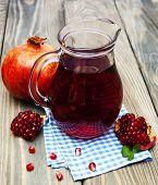Pitcher Of Pomegranate Juice