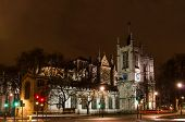 Westminser Abbey, London, England, At Night