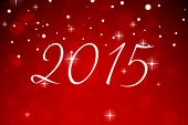 2015 against red design with white stars