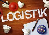 Logistik Desktop Memo Calculator Office Think Organize