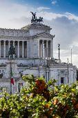 picture of altar  - the important landmark altare della patria Rome - JPG