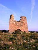 picture of saracen  - apulia coastline with anti saracen incursion watchtower defense - JPG