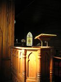 Old Church Pulpit