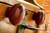 Old Bakelite Round Hand Knob
