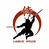 stock photo of hieroglyph  - Oriental martial arts - JPG