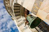 Sino da torre inclinada de Pisa