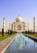 pic of mumtaj  - Taj Mahal mausoleum in Agra - JPG