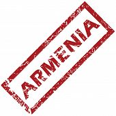 stock photo of armenia  - New Armenia grunge rubber stamp on a white background - JPG