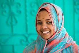 picture of muslim  - African Muslim girl - JPG
