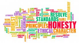 stock photo of trustworthiness  - Honesty and Trustworthy Character of a Person - JPG