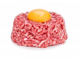 picture of tartar  - Close up of beef tartar - JPG