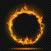 Ring Of Fire Flame poster