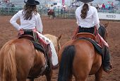 Rodeo Cowgirls