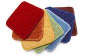 Carpet Samples, Rainbow