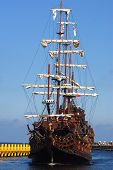 Old Sailing-Ship