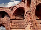 Qutub Minar - Delhi - India. Ancient Mosque