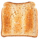 Isolated toast