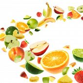 Healthy fruits
