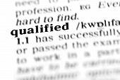 Qualifizierte (Wörterbuchprojekt)