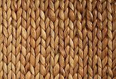 African Woven Basket texture horizontal