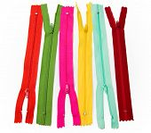Zips multi color