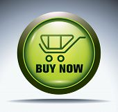 green e-commerce button