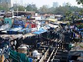 Dhobi Ghat laundry slum (India)