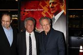 LOS ANGELES - JAN 25:  David Milch, Dustin Hoffman, Michael Mann arrives at  the
