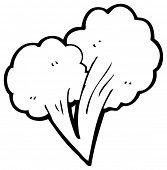 cartoon gust of wind element (raster version)