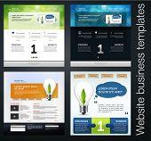 exclusive website business templates, set 5
