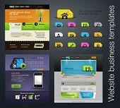 web design set +bonus icons