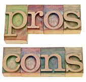 Pros And Cons In Letterpress Type