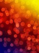 Fondo de luces de arco iris resumen