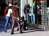 Meninas vão às compras