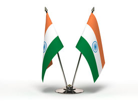 image of indian flag  - Miniature Flag of India