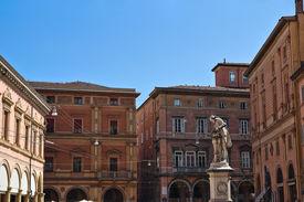 stock photo of luigi  - Perspective of the Luigi Galvani Square - JPG