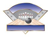 Bowling Design Template Triangle
