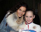 Eteri Tutberidze And Julia Lipnitskaia