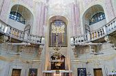foto of exaltation  - The interior of the Roman Catholic church of the Exaltation of the Holy and St - JPG