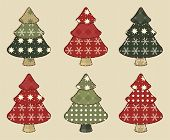 Christmas Tree  Set 4