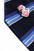 Tie And Cufflinks
