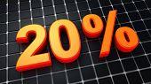 Vinte por cento