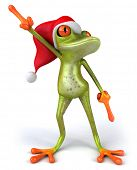 Weihnachten Frosch