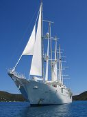 Motor Sailing Yacht poster