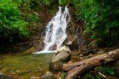 Beautiful scenery of Sai Rung waterfall, Thailand