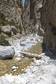 Samaria gorge, Crete island, Greece