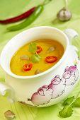 Pumpkin ñream Soup