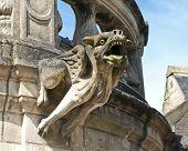 Medieval Gargoyle poster