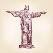 statue of Jesus Christ in Rio de Janeiro