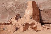 Antelope Ruins In Canyon De Celly
